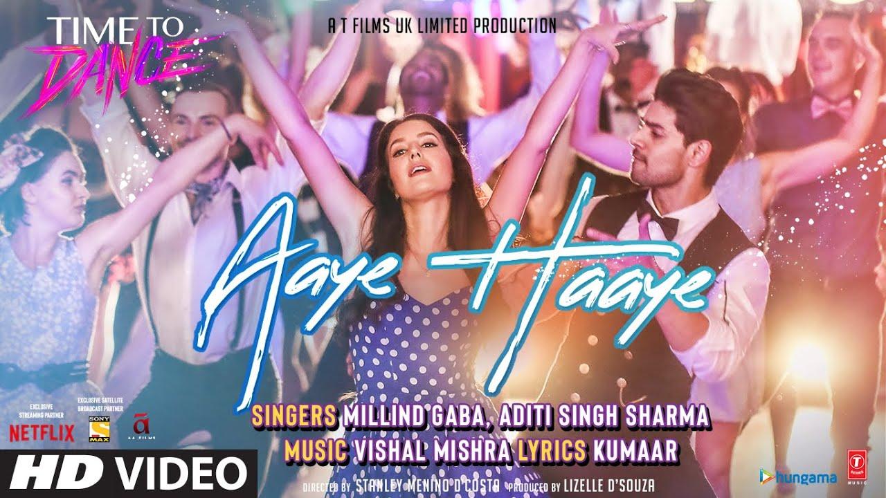 hindi aaye haaye time to dance vishal millind aditi