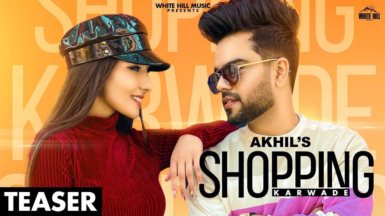 punjabi shopping karwade akhil poster